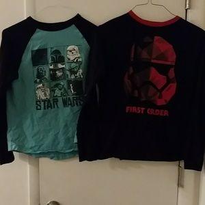 Pair of Star Wars by Gymboree Tees